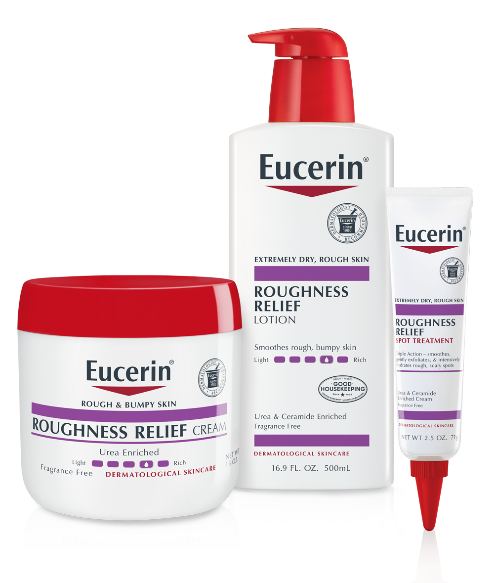Eucerin Roughness Relief Beauty Shot