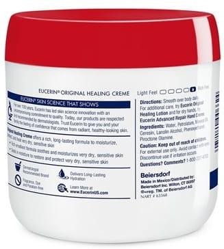 Eucerin 174 Original Healing Creme Eucerin 174 Skincare