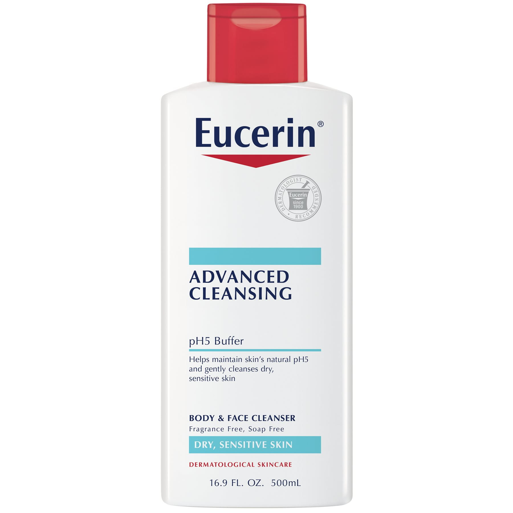 Advanced Cleansing Body And Face Cleanser Eucerin 174 Skincare