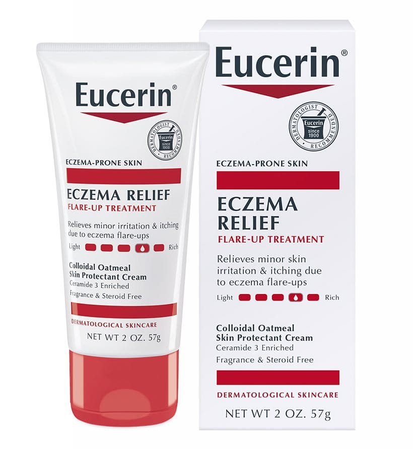 Eczema Relief Flare Up Treatment Cream Eucerin 174 Skincare