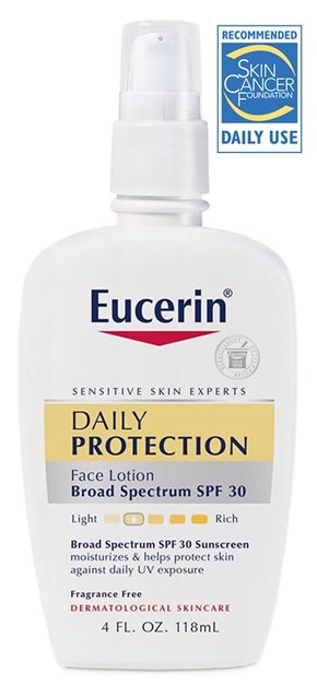 Daily Protection Face Lotion Broad Spectrum SPF 30 | Eucerin