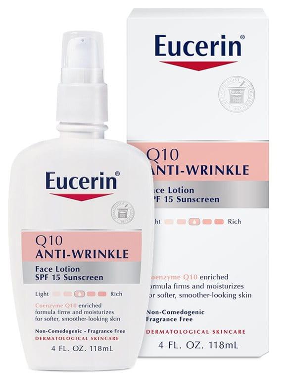 Eucerin® Q10 Anti-Wrinkle Face Lotion with SPF 15 | Eucerin® Anti