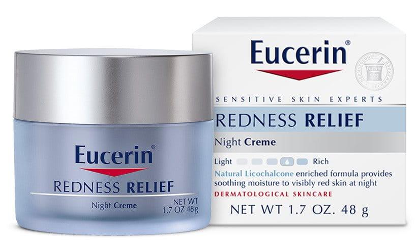 Redness Relief Night Creme Eucerin 174 Skincare